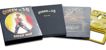 Queen in 3-D by Brian May – Book Details Revealed