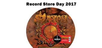 Saxon to Release 'Into the Labyrinth' Limited Edition Picture Disc on Record Store Day