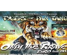 Tygers of Pan Tang 2017 Tour Dates