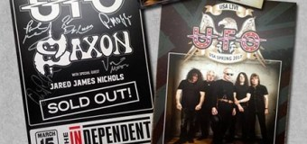 UPDATED:  UFO – Limited Edition Autographed Posters Available, Phil Moog, Vinnie Moore