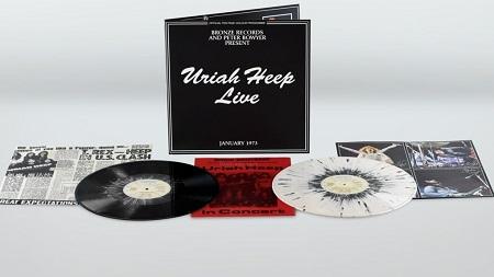 Uriah Heep Live Gets 2 Lp Splatter Vinyl Re Release Full In Bloom