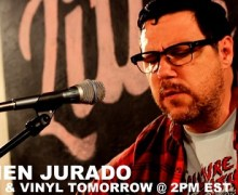 Now Available:  Damien Jurado's Lathe Recording Session w/ Little Elephant