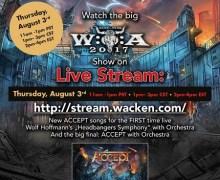 Stream Wacken Open Air 2017 Performance, Free, LiveStream