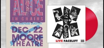 Alice in Chains Releases New 'Live Facelift' Vinyl Bundle