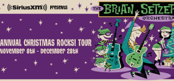 The Brian Setzer Orchestra 2017 Christmas Rocks Tour Dates