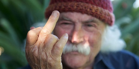 "David Crosby on Ted Nugent, ""the asshole just isn't good enough"""