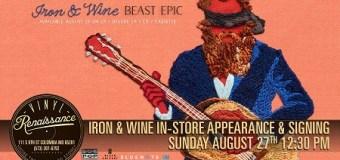Iron & Wine Announces Missouri Signing Session