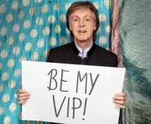"Opportunity to Meet Paul McCartney, Sit VIP, Sing ""Get Back"" @ New York Show"