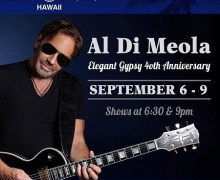 Watch Al Di Meola Perform @ Blue Note in Hawaii – Opening Night