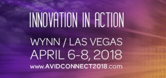 Avid Connect 2018 in Las Vegas, Wynn, Register, Directions