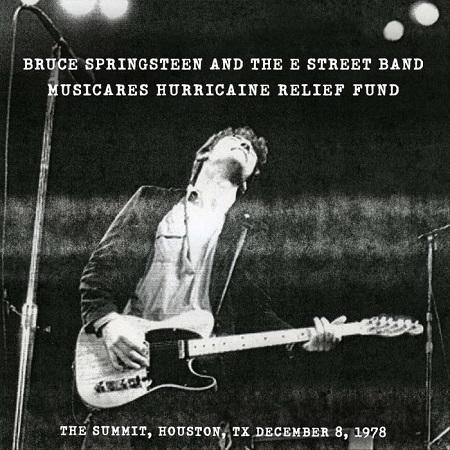 Bruce Springsteen 'Houston '78' - Album to Benefit Hurricane Relief Fund