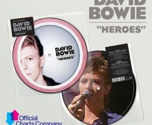 "David Bowie's ""Heroes"" Hit #1 in UK – 40th Anniversary"