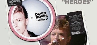 """David Bowie's """"Heroes"""" Hit #1 in UK – 40th Anniversary"""