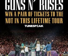 Guns n' Roses 2017 North American Tour Contest:  Win 2 Tickets to See the Band – Dates