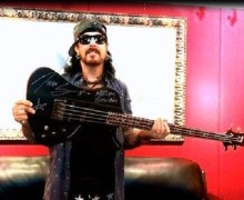 Nikki Sixx Bass Auction for Houston
