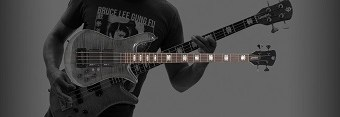 """Rudy Sarzo, """"Spector has received a new shipment of my signature model basses"""" Euro4 LX RS"""