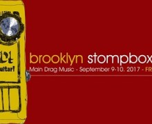 Brooklyn Stompbox Exhibit 2017 – Sept. 9-10 – Directions – Tickets – Guitar Pedal – This Weekend