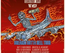 Airbourne w/ Phil Campbell 2017 UK Tour Dates, Tickets, Bristol SOLD OUT