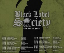 Black Label Society 2018 Europe/UK/Ireland Tour, Tickets, Dates