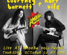Courtney Barnett & Kurt Vile @ Amoeba Hollywood 10/12