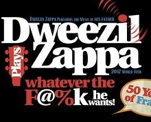 50 Years of Frank: DWEEZIL ZAPPA 2017 Oct. Tour Launch + 2018 Dates