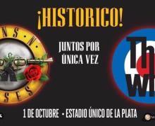 Guns n' Roses & The Who in Buenos Aires, Argentina @ el Estadio Único, fotos, Photos, Vídeo