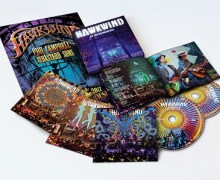 Hawkwind Box Set AT THE ROUNDHOUSE: 2CD/1DVD BOXSET