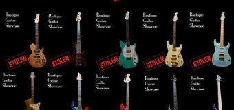 15 Boutique Guitars Stolen – Help Find by Spreading the Word