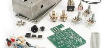 JHS 808 Overdrive DIY Pedal Kit – Tracii Guns Demo