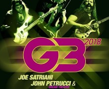 Joe Satriani G3 2018 Europe/UK/Russia Tour Dates Announced, Tickets