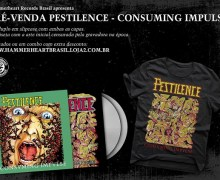 Pestilence – Consuming Impulse CD South America, pré-venda de Pestilence – Consuming Impulse