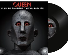 """Queen """"We Are The Champions"""" / """"We Will Rock You"""" Vinyl – Record Store Day"""