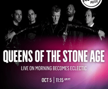 Queens of the Stone Age on KCRW 'Morning Becomes Eclectic'