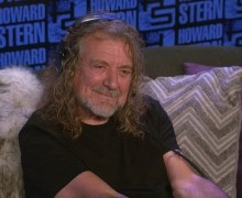 Robert Plant on Howard Stern 2017 – 'Carry Fire'