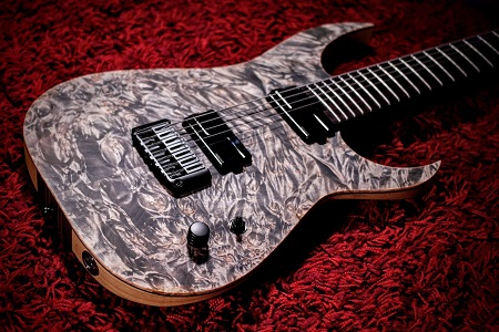 Schecter USA KM7 MKIII - Custom Keith Merrow of Alluvial by John Gaudesi
