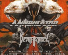 Testament, Annihilator, Death Angel 2017 Tour, Tickets, Dates