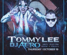 Tommy Lee & Dj Aero @ Beta Nightclub in Denver, Tickets