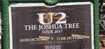 U2 w/ Noel Gallagher Argentina La Plata, Photos, Videos
