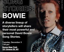 David Bowie Song Stories NY Sonos Event w/ Mick Rock, Devo's Mark Mothersbaugh, Nikki Sixx