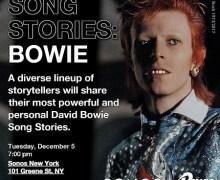David Bowie Song Stories NY Sonos Event w/ Mick Rock, Devo's Mark Mothersbaugh, Nikki Sixx