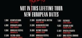 Guns N' Roses 2018 Europe Tour Announced, Tickets, Dates + Russia, UK