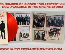 Huey Lewis Collected, Signed, Greatest Hits, Best, Vinyl, LP, CD