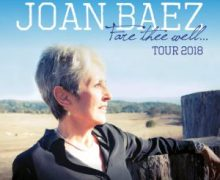 Joan Baez 2018 UK Tour Announced, Dates