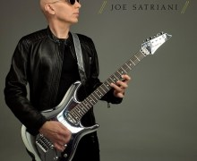 "Joe Satriani ""Thunder High on the Mountain"" New Song, Glenn Hughes, Chad Smith"