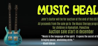 John McLaughlin Guitar Auction – Custom Paul Reed Smith