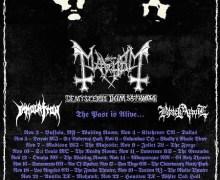 Mayhem Tour 2017/2018 US, Dates, Tickets, Lineup, Immolation, TX, FL, NY, VA, AL, TN, USA