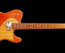 "Mike Zito ""Peace"" Model Signature Delaney Big Sky Guitar"