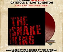 Rick Springfield 'The Snake King' Red Vinyl Limited to 100 Copies – ORDER