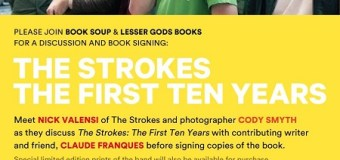 The Strokes:  Nick Valensi & Cody Smyth Book Signing @ Book Soup L.A. Hollywood, Los Angeles