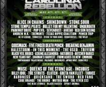 Carolina Rebellion 2018 Lineup, Tickets, VIP, Festival Alice in Chains, Muse, Queens of the Stone Age, Billy Idol